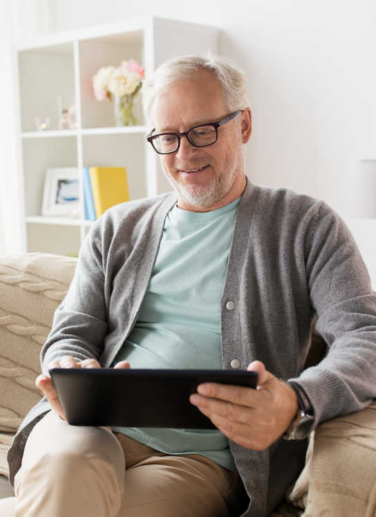 senior tablette tactile residence senior appartement connecte
