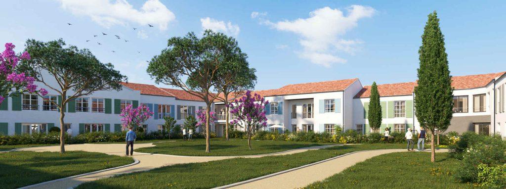 residence senior oh activ st pierre d'oleron vue exterieure