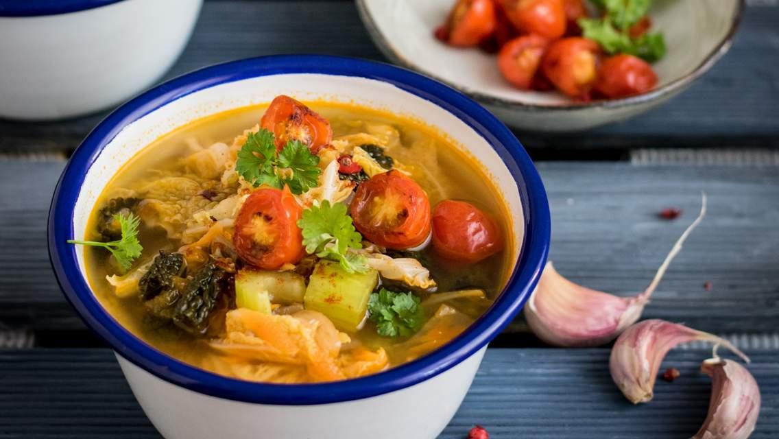 soupe légumes Oh ! Activ' residence senior