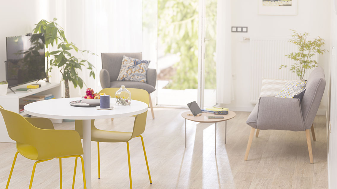 Appartement 1, 2 ou 3 pièces avec balcon ou terrasse