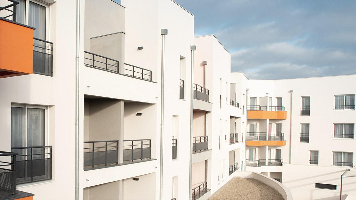 Choisissez votre logement parmi les 87 appartements disponibles
