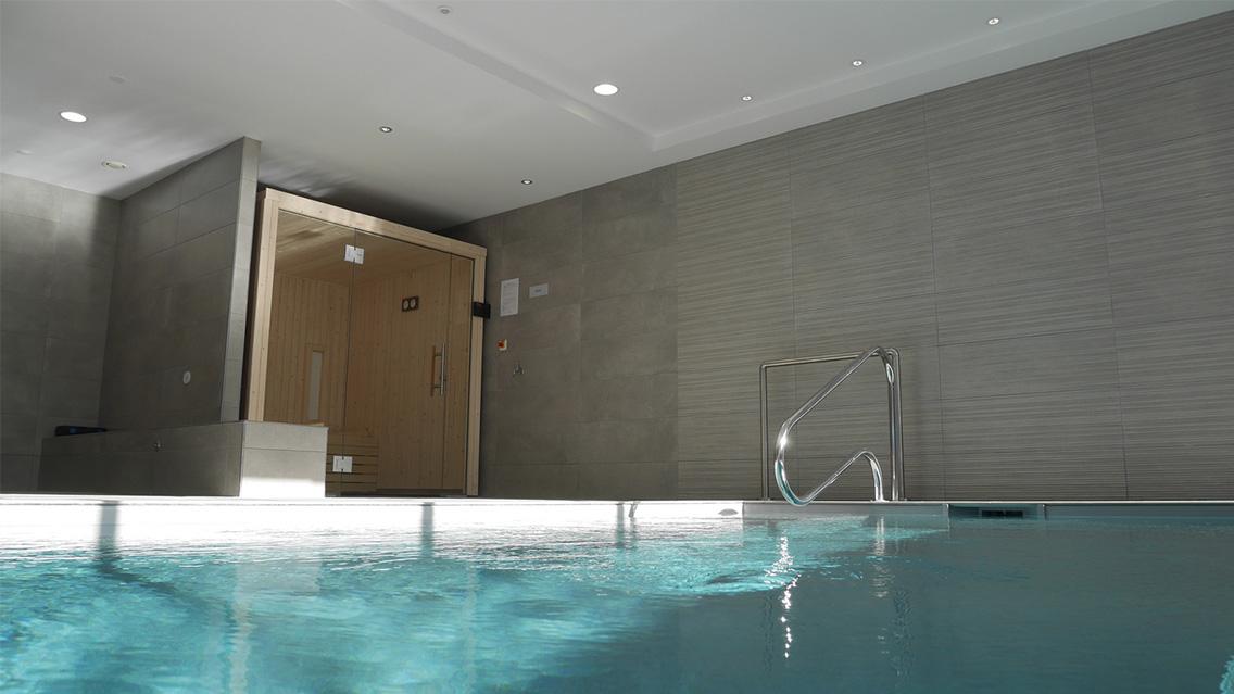 Espace bien-être, sauna, bassin de nage