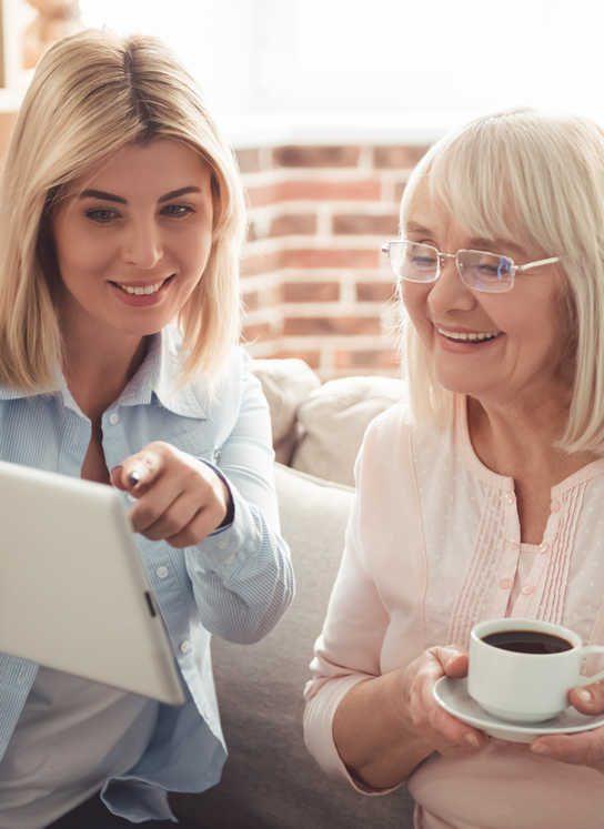 services personnalises Oh ! ACtiv' tablette senior residence senior